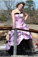 camo prom dress... <3