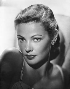 "Gene Tierney - My father named me after her character in the film ""Laura""."