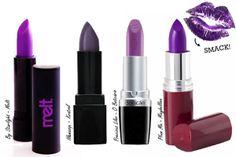 Batom Roxo, Batom Lilás, Batom Violeta ou Batom Fúcsia. Qual seu favorito?  http://viroutendencia.com/2014/02/05/batom-roxo-lilas-e-violeta-inspiracoes-e-dicas-de-compras/