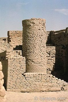 Mohenjo Daro in Pakistan is one of the oldest cities on the planet.