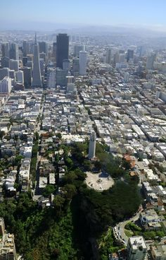 •San Francisco From Above – Johanna's Journey