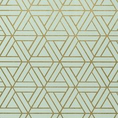 Medina Aqua and Gilver Wallpaper from Thibaut Geometric Resource Collection. A geometric wallpaper with an interlocking triangular pattern printed in aqua and gilver. Medina Wallpaper, Chic Wallpaper, Metallic Wallpaper, Geometric Wallpaper, Pattern Wallpaper, Aqua Wallpaper, Iphone Wallpaper, Geometric Patterns, Textures Patterns