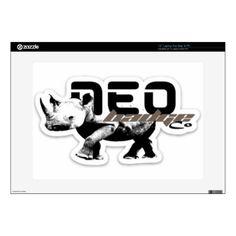 "neo original logo 15"" laptop skin Custom Brandable Electronics Gifts for your buniness #electronics #logo #brand"