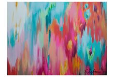 Large Abstract Art Canvas (That Doesnt Break the Bank!) - Abstract Canvas Wall Art - Ideas of Abstract Canvas Wall Art Abstract Paper, Abstract Canvas Art, Painting Canvas, Diy Wall Art, Diy Art, Painting Inspiration, Illustration, Art Projects, Art Photography