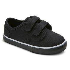 Toddler Boy's Dontae Canvas Sneakers Circo™ - Black