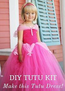 Sleeping Beauty Tutu Dress Kit
