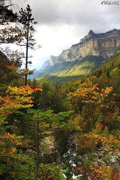 Parque nacional de Ordesa. Huesca. Spain