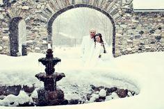 nice contrast, snow, white, rock