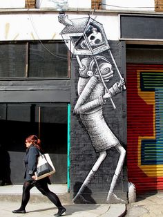 Travelling In Different Directions, Phlegm, London