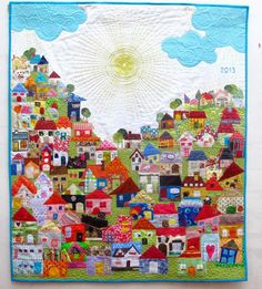 People who can make this kind of stuff blow me away. So great! Patchwork  Cía: Recuerdo del 2013