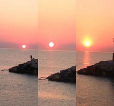 Sunrise in Cattolica