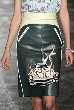 See every last detail from shoes and jewels, to bags and belts, from the Prada Spring 2012 Ready-To-Wear show.