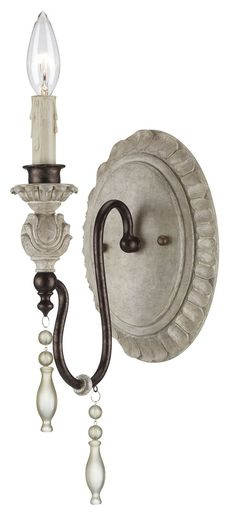 Found it at Wayfair - Denise 1 Light Wall Scone