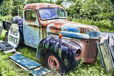 http://fineartamerica.com/featured/international-trucking-blues-steven-bateson.html