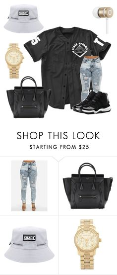 """""""Untitled #137"""" by queen-libra ❤ liked on Polyvore featuring NIKE, Michael Kors and Beats by Dr. Dre"""