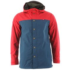 Obey Hunter Jacket - Red/navy