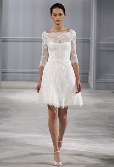 7f06c04797ee1 La robe de mariée courte est la nouvelle tendance de ces dernières années  qui met en