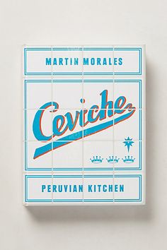 Ceviche goes where no cookbook has gone before, combining Peru's most authentic recipes with techniques and ingredients from around the world. Accompanied by colorful photographs and time-tested know-how, it shows readers how to create uniquely Peruvian dishes like lucama ice dessert, choclo corn cakes and, of course, ceviche.