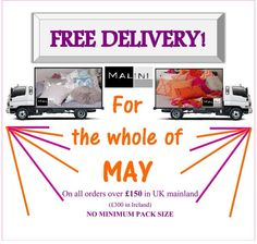 Free Delivery this May at www.malini.com on all orders over £150 in UK Mainland! No Minimum Pack sizes! (Ts&Cs apply) Get ordering now, and get your shop looking beautiful in time for the gorgeous weather this weekend! Malini is a soft furnishings company specialising in stylish homeware. With over 20 Years of experience in wholesale and manufacturing, here are Malini we focus on bringing you the latest home design and decor trends at affordable prices. See more cushions at www.malini.com