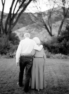 grow old with me, oh my goshs brings a tear to my eyes,still in love taking walks..that being in love..so sweet..