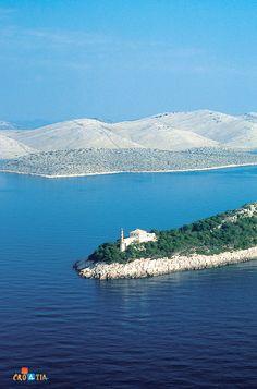A lighthouse in Kornati archipelago #kornati #croatia