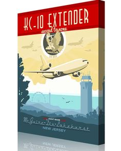 Share Squadron Posters for a 10% off coupon! 2d Air Refueling Squadron KC-10 #http://www.pinterest.com/squadronposters/