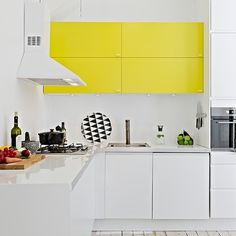 White with yellow