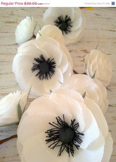 ON SALE Wedding Garland/Paper Flowers/Wedding by LandofFlowers, $33.15