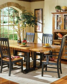 Rustic Country Dining Room Sets Lovely Intercon Rustic Mission Refectory Dining Table Sheely S Cheap Furniture, Outdoor Furniture Sets, Furniture Design, French Dining Tables, Dining Room Table, Dream Home Design, House Design, Rustic Country Furniture, Home Goods Decor