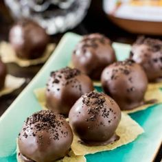 Nutella Truffles - Sugar Spun Run