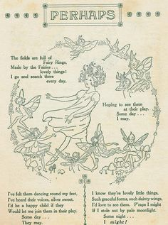 the Joy Book, childrens annual, ill pg 171 Room Posters, Poster Wall, Poster Prints, Elfen Fantasy, Deco Studio, Pomes, Fairy Art, Pretty Words, Faeries