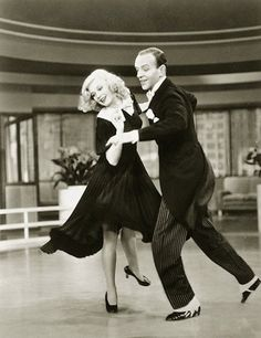 """Remember, Ginger Rogers did everything Fred Astaire did, but backwards and in high heels."""