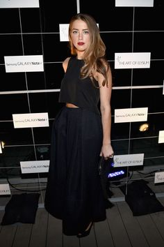 Amber Heard Photos: The Note Pad Event in LA - Celebrity Fashion Trends