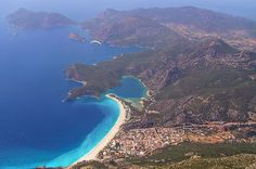 Oludeniz, Turkey travel-and-places Places Around The World, Oh The Places You'll Go, Places To Travel, Travel Destinations, Places To Visit, Around The Worlds, World Most Beautiful Place, Beautiful Beach, Turkey Places