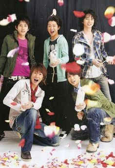 Arashi. This group is super interesting, I saw a clip on Tumblr and liked the song, I've been looking for a Japanese Rock group like, forever but it's hard, I have more access to KPOP and that's limited:'( I hope I succeed after all, I am a persistent person when it comes to music.