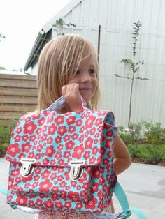 Cartable enfants (tuto)
