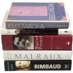 French Literary Biographies, Set of 5 One Kings Lane ($15) ❤ liked on Polyvore featuring books, fillers, home, accessories, books/magazines and magazine