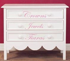 Cute idea on a smaller scale for a little girl room.
