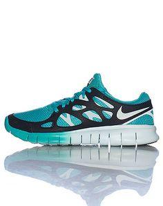NikeFree run+  ext    medium blue