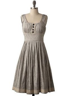Homemade dress! (Reminds me of Sound of Music)