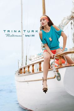 Mediterranean inspired ... let's set sail! #trinaturk
