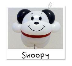 バルーンアート【スヌーピー】 Balloon Dog, Balloon Animals, Totoro, Art Forms, Chibi, Balloons, Sculptures, Snoopy, Crafts