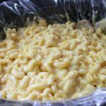 Mac & Cheese easy recipe (even uses a crockpot liner bag!)