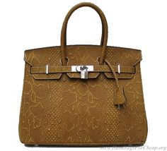Hermes Birkin Handbag.