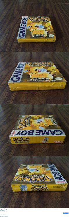Video Gaming: Pokémon: Yellow Version - Special Pikachu Edition (Nintendo Game Boy) Brand New BUY IT NOW ONLY: $379.95 #priceabateVideoGaming OR #priceabate