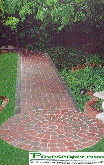 brick walk, like the circle