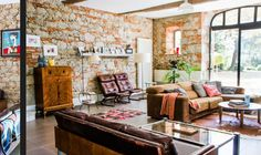 """This living room is from our feature """"Best Kept Secret"""""""
