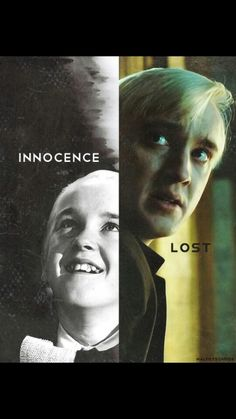 Draco Malfoy. My favourite character. The one who seems bad but is a good person