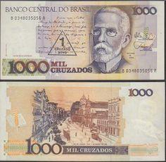 Brazil 1 Cruzado Novo, 1989, 216b, Almost