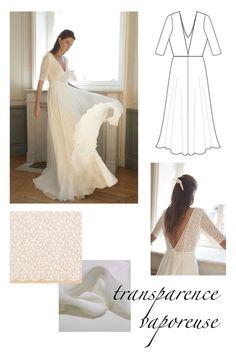 Diy Wedding Dress, Wedding Dress Patterns, Dress Sewing Patterns, One Shoulder Wedding Dress, Handmade Clothes, Needle And Thread, Refashion, Dressmaking, Sewing Tutorials